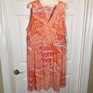 Faded Glory NWT Size 4X Dress